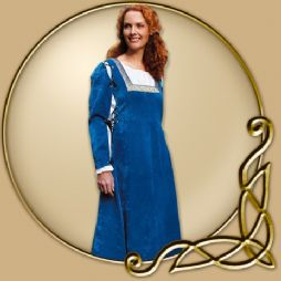 Costume - Renaissance Dress with Detachable Sleeves